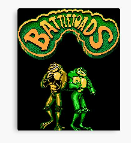 Battletoads (NES) Canvas Print