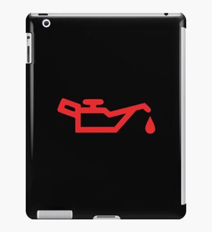 Check Oil iPad Case/Skin