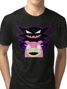 Haunter and Slowbro Tri-blend T-Shirt