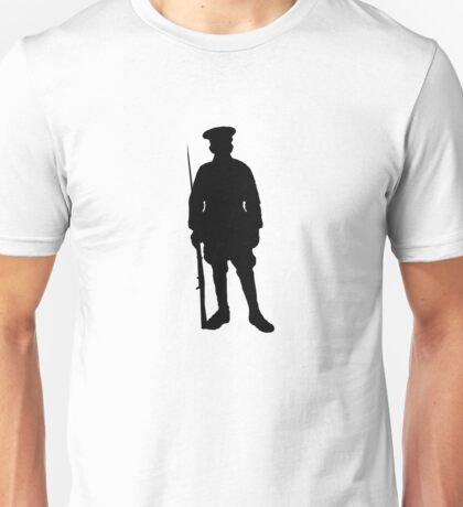 Military Silhouette Unisex T-Shirt
