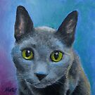 Russian Blue by Noewi