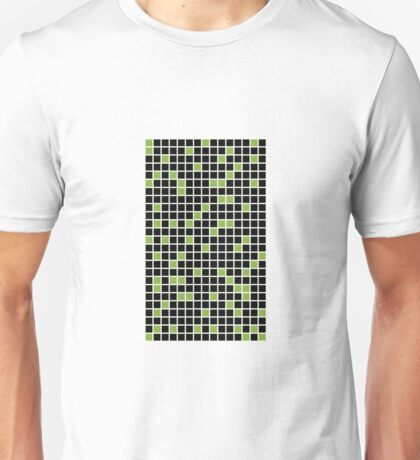 Greenery Matrix 2017 Color of the Year Unisex T-Shirt