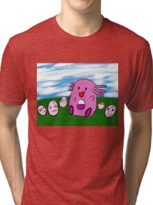 Badly-drawn Chansey Tri-blend T-Shirt