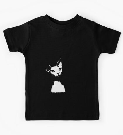 Naked Astro Cat - 7 Kids Tee