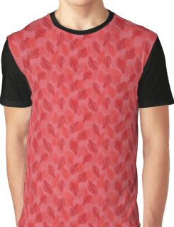 Red Feathers Graphic T-Shirt