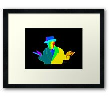 Meh 3H by sdavis Framed Print