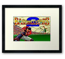 Baseball Stars 2 (Neo Geo) Framed Print