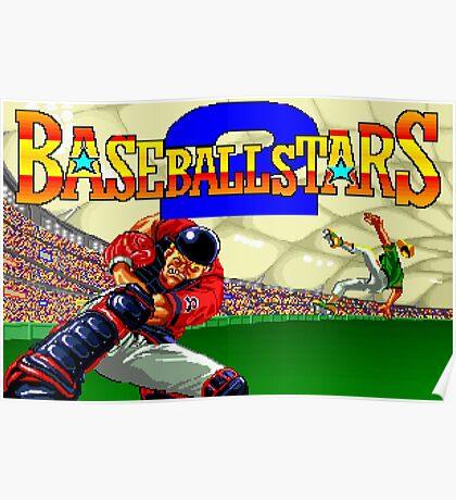 Baseball Stars 2 (Neo Geo) Poster