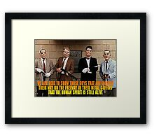 Dead Presidents Framed Print