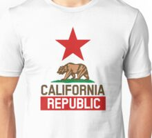 California Republic Design Unisex T-Shirt