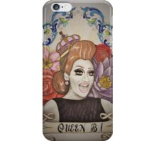 Drawing of Bianca Del Rio iPhone Case/Skin