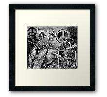 Peace_BOT Framed Print