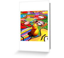 Felix - Vibrant  Greeting Card