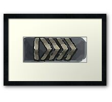 Silver elite Framed Print