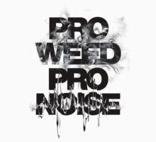 ALLDAY x PRO WEED PRO NOISE Kids Tee