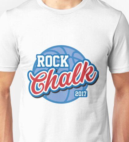 Rock Chalk Basketball Unisex T-Shirt