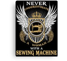 SEWING MACHINE LIMITED EDITION Canvas Print