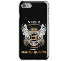 SEWING MACHINE LIMITED EDITION iPhone Case/Skin