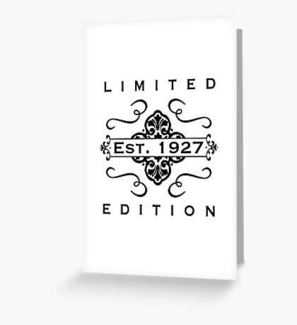 1927 Limited Edition Greeting Card