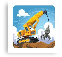 Claw Crane Canvas Print
