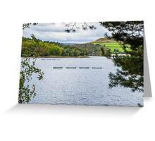 Boats on Ladybower Greeting Card