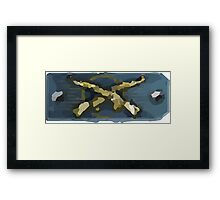 Master guardian elite Framed Print