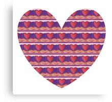 One Big Heart Canvas Print