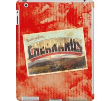 Greetings from Chernarus - INFECTED iPad Case/Skin
