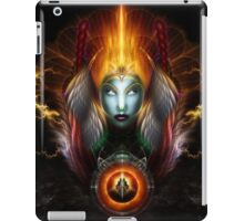 Riddian Queen Dynasty Of Power On Black iPad Case/Skin