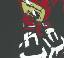 Blaster From Transformers Stencil Piece Sticker