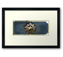 Distinguished master guardian Framed Print