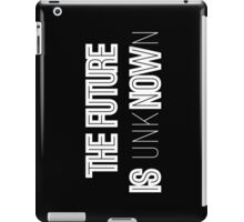 Black & White Future iPad Case/Skin