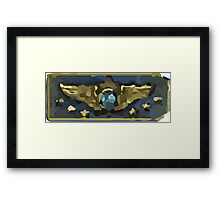 Supreme master first class Framed Print