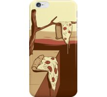 the melting pizza iPhone Case/Skin