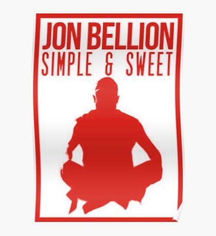 bellion jon Poster