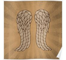 Daryl Wings Poster