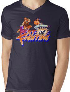 Art of Fighting (SNES) Mens V-Neck T-Shirt