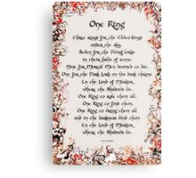 One Ring Metal Print