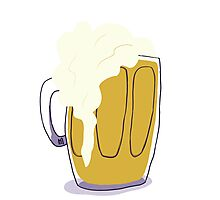 Beer in a Mug Photographic Print
