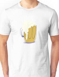 Beer in a Mug Unisex T-Shirt