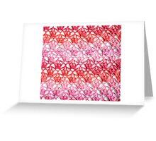 Cherry Blossom crochet Greeting Card