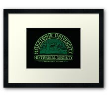 Miskatonic Historical Society Framed Print