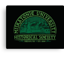 Miskatonic Historical Society Canvas Print