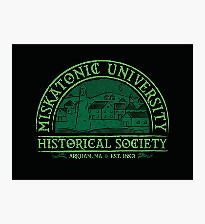 Miskatonic Historical Society Photographic Print