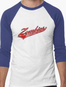 Monroeville Mall Zombies Men's Baseball ¾ T-Shirt