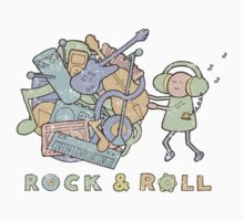 Katamari Rock & Roll by vonplatypus