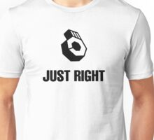 Just Right Unisex T-Shirt