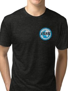 Archer ISIS Logo (Work Shirt) Tri-blend T-Shirt