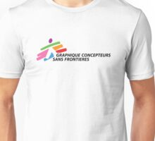 Graphique Concepteurs Sans Frontieres Unisex T-Shirt