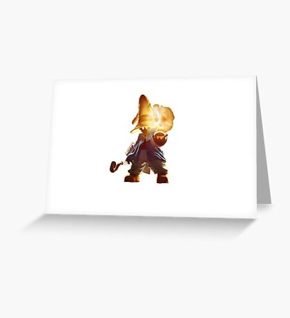 Vivi , Final Fantasy 9 Greeting Card